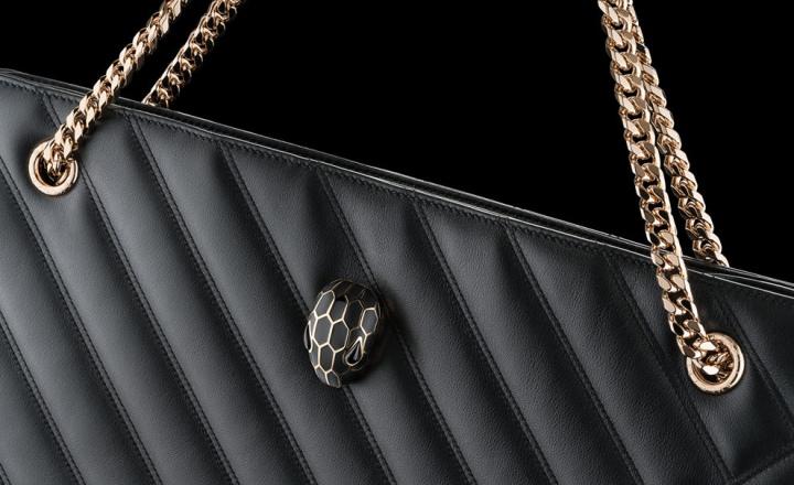Змея защищается: новая коллекция сумок Bvlgari Serpenti со вшитыми чипами