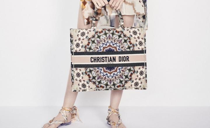 Пляжная капсульная коллекция Dior: фото