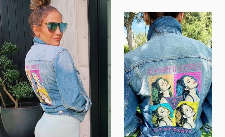 Дженнифер Лопес выпустила совместную коллекцию с Guess