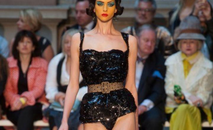 Неделя моды в Лондоне: Vivienne Westwood и друг ее Уорхол