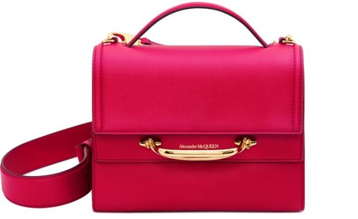 Alexander McQueen выпустили новую линию сумок: фото
