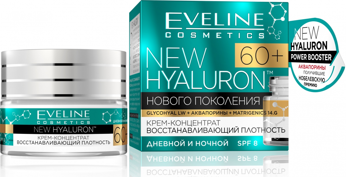 Инновационный уход за кожей на основе гиалуроновой кислоты от Eveline