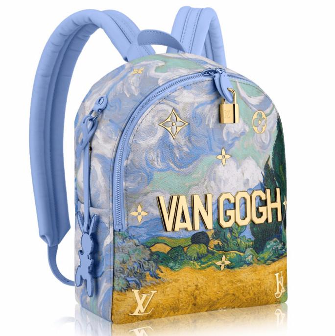 Louis Vuitton украсил сумочки мировыми шедеврами